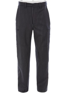 JW Anderson pinstripe straight trousers
