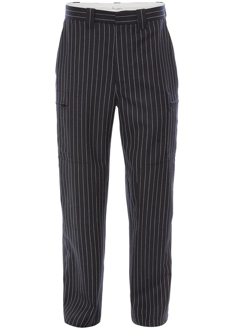 JW Anderson pinstripe trousers