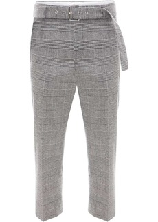 JW Anderson plaid cropped trousers