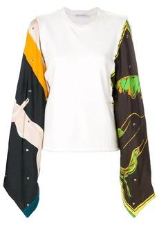 JW Anderson printed sleeves top