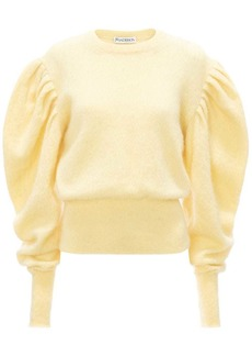 JW Anderson puff-sleeves crew-neck jumper