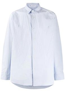 JW Anderson tonal applique buttoned shirt