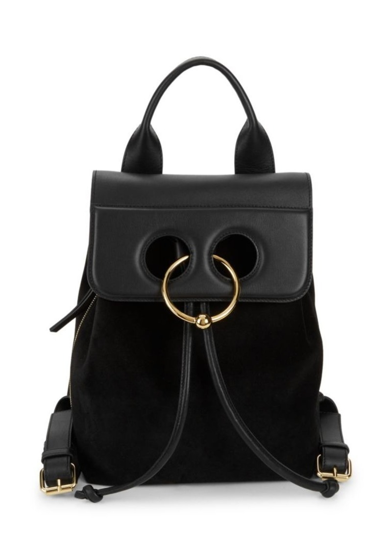 JW Anderson Ring Leather Backpack