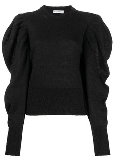 JW Anderson ruched mohair-blend jumper