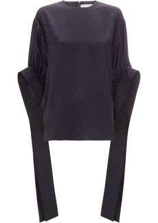 JW Anderson ruched sleeve top