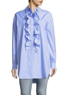 JW Anderson Ruffle Front Blouse