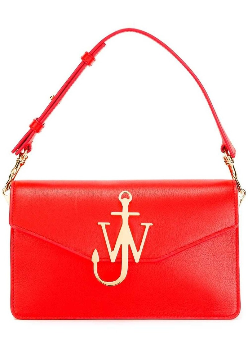 JW Anderson Scarlet Logo Purse With Chain