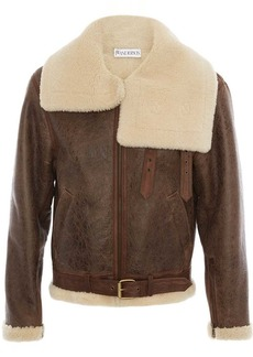 JW Anderson shearling collar aviator jacket