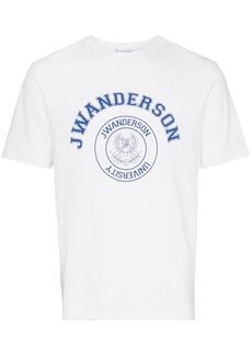 JW Anderson short sleeve logo printed t-shirt