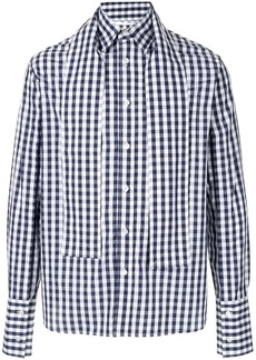 JW Anderson straps checked shirt
