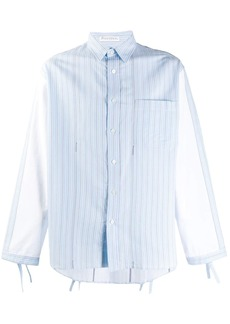 JW Anderson striped contrast-sleeve shirt