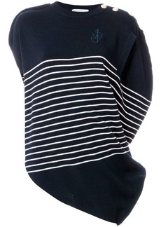 JW Anderson striped knitted top
