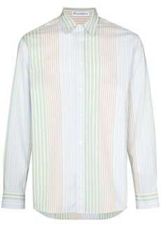 JW Anderson striped relaxed-fit shirt