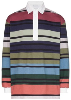 JW Anderson striped rugby polo shirt