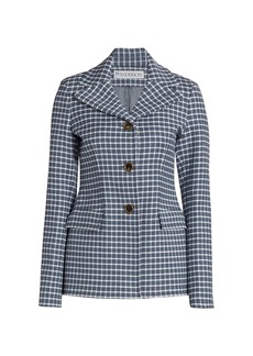 JW Anderson Structured Check Jacket