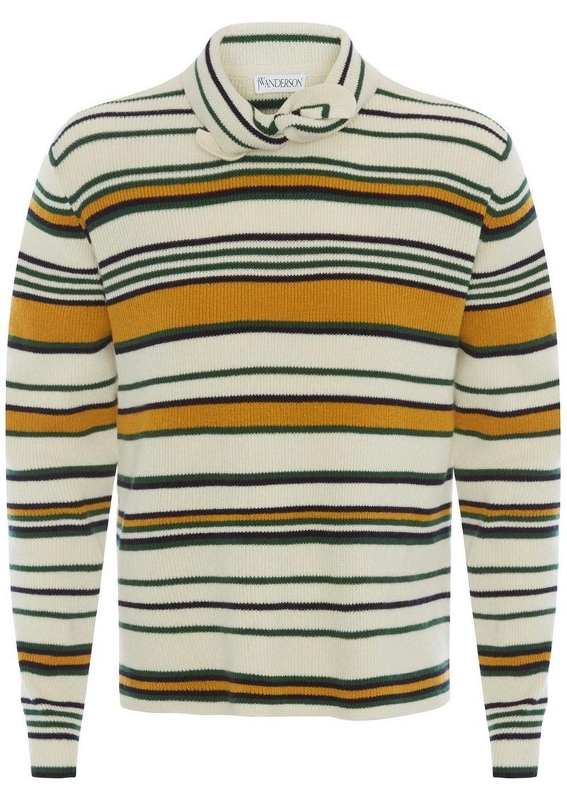 JW Anderson tie-collar sweater