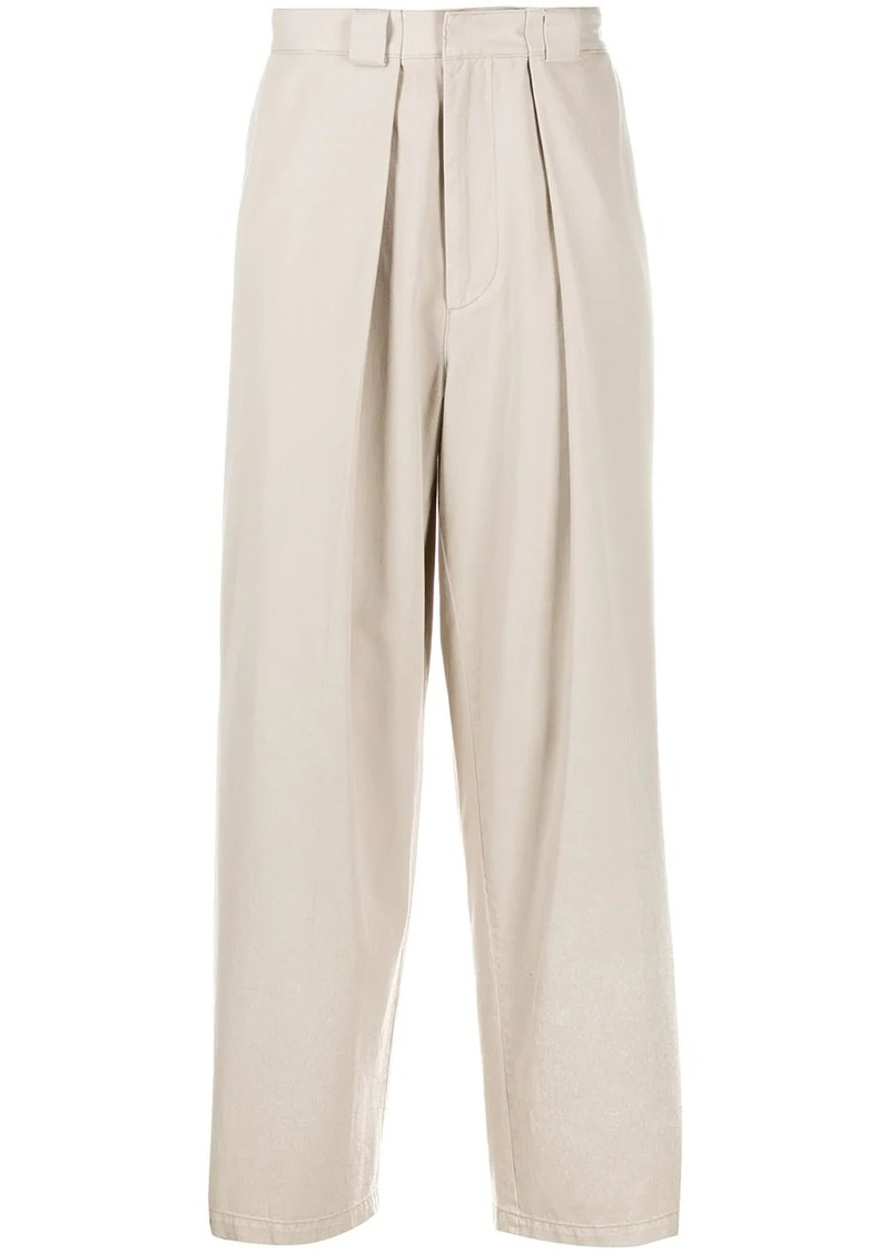 JW Anderson wide leg tapered trousers