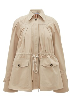 Women's Jw Anderson Women's Wide Sleeve Cotton Twill Workwear Jacket