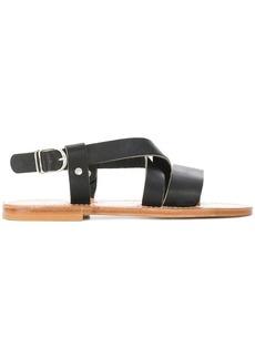 K. Jacques flat sole summer sandals