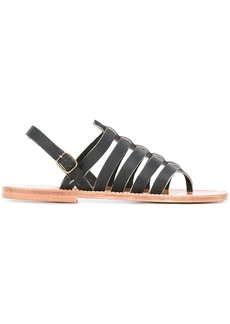 K. Jacques Homer strappy sandals