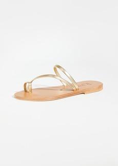 K. Jacques Actium Toe Ring Slides