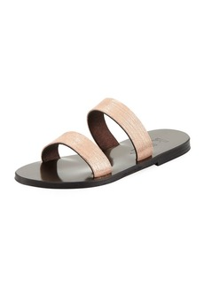 K. Jacques Bagatel Two-Band Slide Sandal