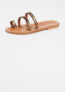 K. Jacques Chiron Toe Ring Slides