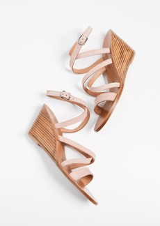 K. Jacques Chloe Wedge Sandals