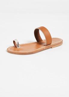 K. Jacques Kali Toe Ring Slides