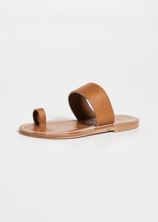 K. Jacques Nagoya Toe Ring Slide Sandals