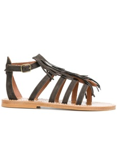 K. Jacques open toe gladiator sandals - Brown