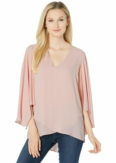 Karen Kane Angel Sleeve Crossover Top