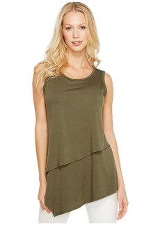 Karen Kane Asymmetric Layer Top