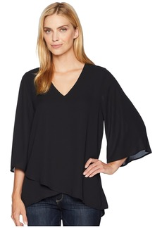 Karen Kane Bar-Back Crossover Top