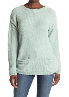 Karen Kane Chenille Double Pocket Dolman Sweater
