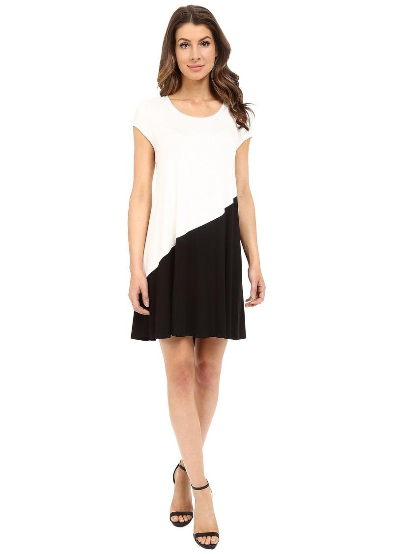 Karen Kane Color Block Maggie Trapeze Dress