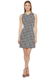 Karen Kane Crew Neck Halter Dress