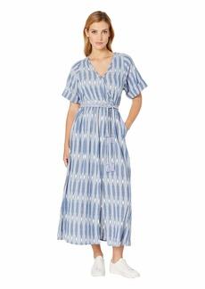 Karen Kane Cuffed Sleeve Dress