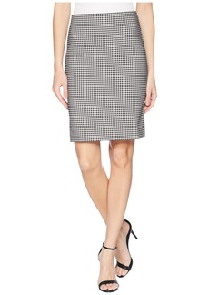 Karen Kane Gingham Skirt