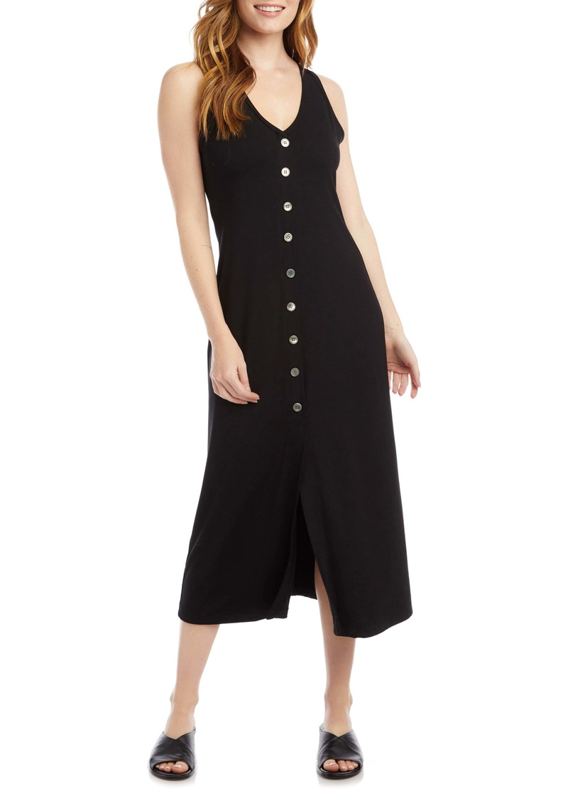 Karen Kane Alana Button-Up Midi Dress