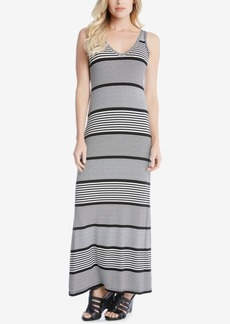Karen Kane Alana Striped Maxi Dress