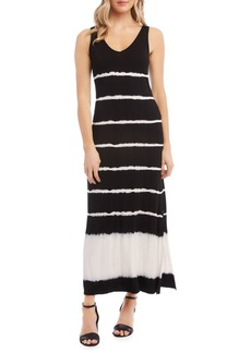 Karen Kane Alana Tie-Dyed Sleeveless Maxi Dress