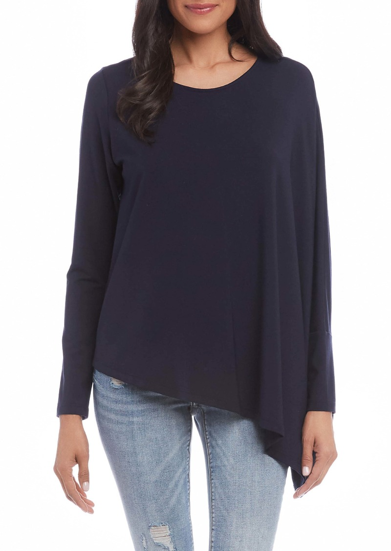 Karen Kane Asymmetrical Jersey Top