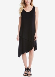 Karen Kane Asymmetrical Shift Dress