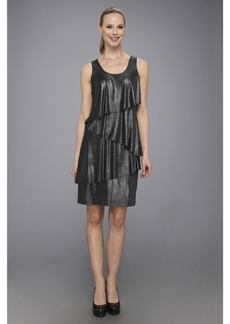 Karen Kane Asymmetrical Tier Dress