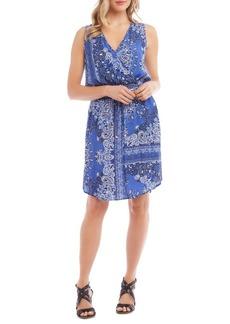 Karen Kane Bandana Print Dress