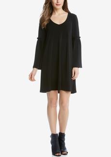 Karen Kane Bell-Sleeve Peasant Dress