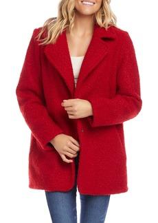 Karen Kane Bouclé Coat