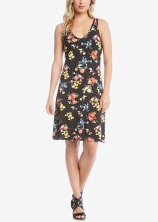 Karen Kane Brigitte Floral-Print Dress