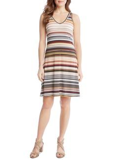 Karen Kane Brigitte Zigzag Stripe Dress